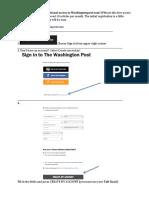 WashingtonPost Instructions