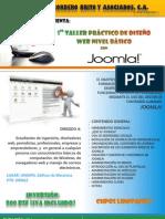 1er TALLER PRÁCTICO DE DISEÑO WEB NIVEL BASICO CON JOOMLA