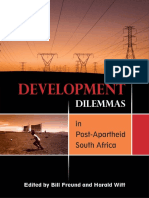 Development Dilemmas in Post Apartheid South Africa