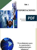 TEMA 3 EXPORTACIONES