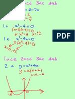 Core Revision Quadratics 101110