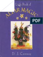 A Little Book of Altar Magic - DJ Conway