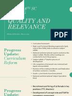 03 - QRCC Progress Update Presentation 2019-05-21