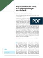 Mtp-284450-Papillomavirus Les Virus Et La Physiopathologie de Linfection--Wo-dX38AAQEAAG4jpiEAAAAH-A.pdf · Version 1uuu