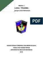 Modul-1 MAHASISWA Forensik-Medikolegal Luka & Trauma_UMI2019