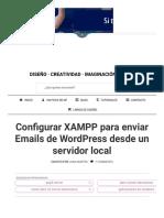 Configurar XAMPP. Emails de WordPress Con Xampp _ J Solución Creativa