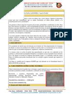 Proceso Constructivo - Enchapado de Jardinera | CONSTRUCCIONES II