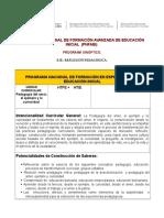 Sinópticos Pedagogía Del Amor.