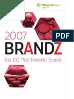 BrandZ-2007-RankingReport