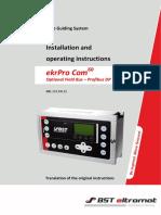 Profibus Dp Module Operating Manual En