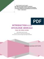 01 - Introduction a La Mycologie 2018