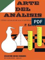 El arte del análisis - P.Keres