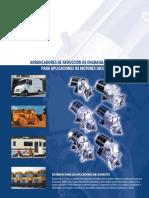 DENSO 12V Gear Reduction Starters DSL Apps D1474 Spanish