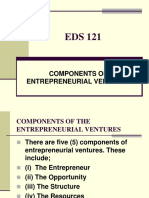 EDS 121 COMPONENTS OF ENTREPRENEURIAL VENTURES 2.ppt