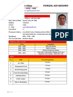 CV Fivrizal Adi Negoro