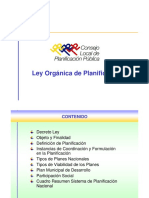 Ley Planif