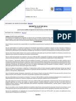 Decreto 2147 de 2016