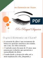 Curso Extensão de Cílios Apresentação PDF