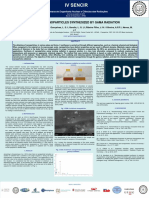 SELENIUM NANOPARTICLES SYNTHESIZED BY GAMA RADIATION - Poster Sencir 2019