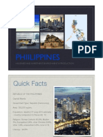 Philippines- A Business and Investment Environment Introduction