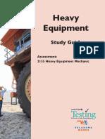Heavy Equipment Study Guide