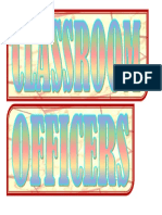 Officers Title