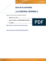 Cartilla de Control Interno