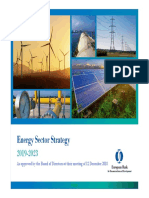 Energy Sector Strategy 2019