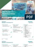 TIA Portal V15 1 Technical Slides En