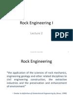 Properties of Rocks and Rock Masses
