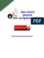 Atpl Oxford navigate