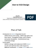 VLSI Design - An Introduction