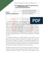 Plan de Prevencion de Emergencias y Atencion a Desastres Del Asds (1)