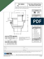FD-1200-B Specification Sheet