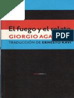 Giorgio Agamben - El fuego y el relato