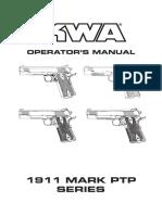 User Manual 1911 MK Series