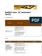 BiblioNews 35 (setembre 2010)