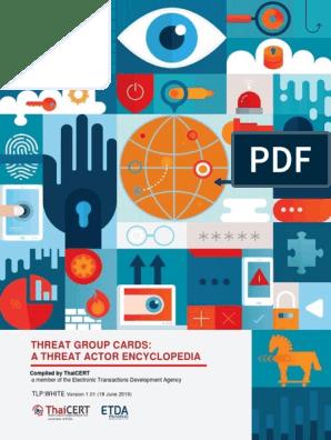 A Threat Actor Encyclopedia | Information Security