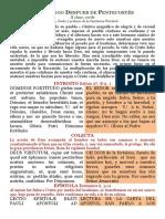 VI Domingo Despues de Pentecostés PDF