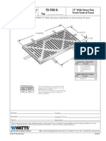TD-900-B Specification Sheet