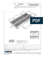 TD-910-B Specification Sheet