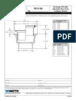 FD12-SQ Specification Sheet