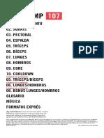 Notas Coreográficas Pump 107