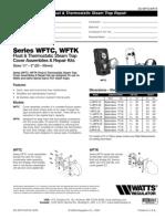 WFTC,WFTK Specification Sheet