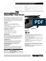 WPFP08-50B,WPFP08-50R,WPFP08-50W,WPFP12-25B,WPFP12-25R,WPFP12-25W Specification Sheet