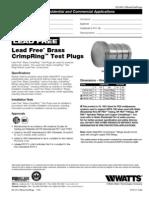 LFWP24B Specification Sheet