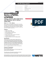 LFWPBV Specification Sheet