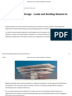 Inclined Columns Design - Loads and Bending Moment in Inclined Column.pdf