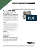 WTD Specification Sheet