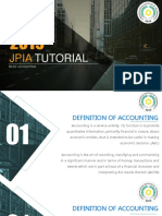 Basic Accounting JPIA tutorial